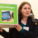 Jana Ruppel, Mitarbeiterin des Grund-Bildungs-Zentrums