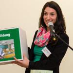 Claire Zynga, Mitarbeiterin des Grund-Bildungs-Zentrums