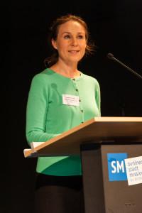 Verabschiedung durch Johanna Thurau, Mitarbeiterin des Grund-Bildungs-Zentrums