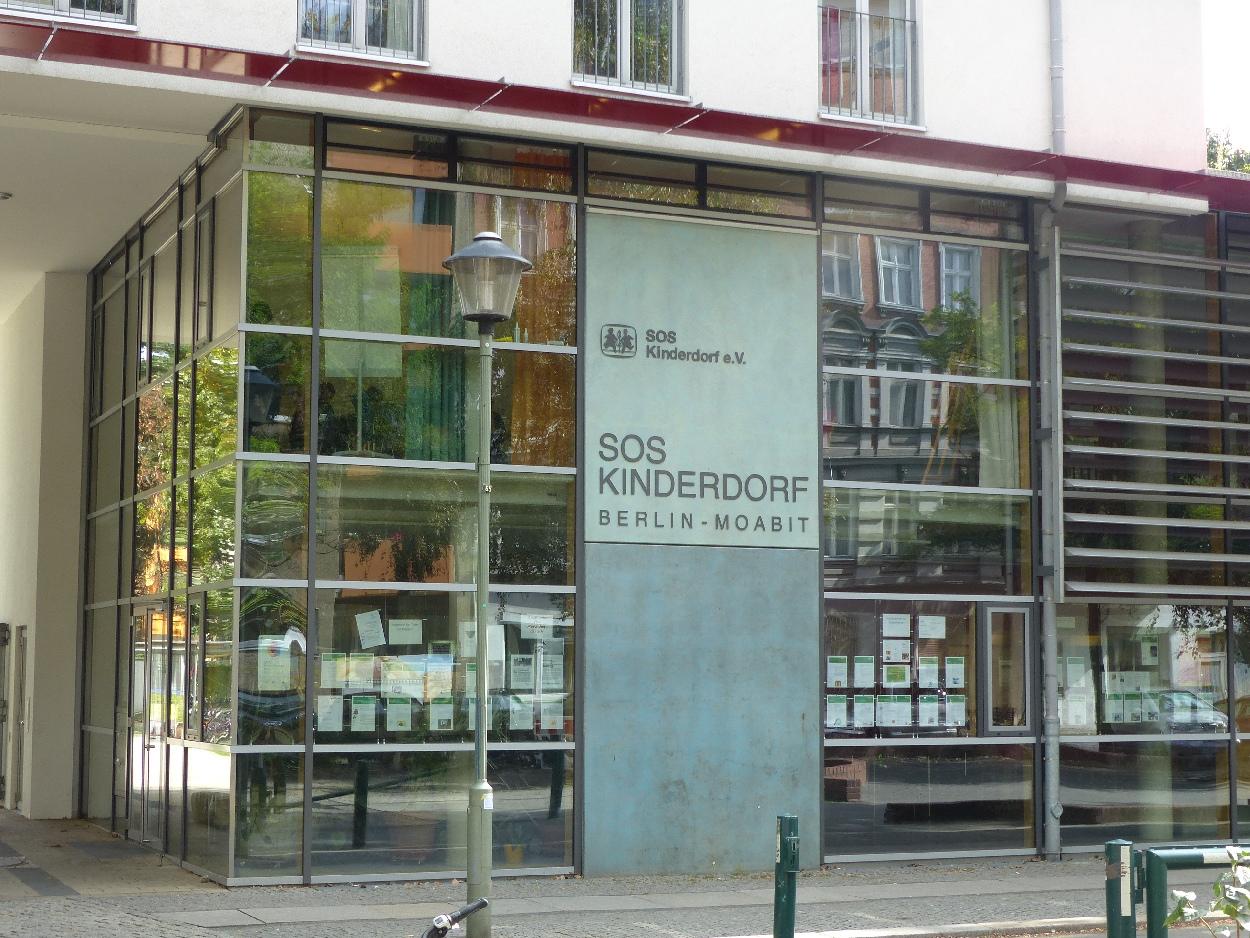 SOS Kinderdorf e.V. Berlin-Moabit Gebäude