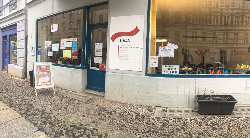 MHG Divan e.V. Eingang