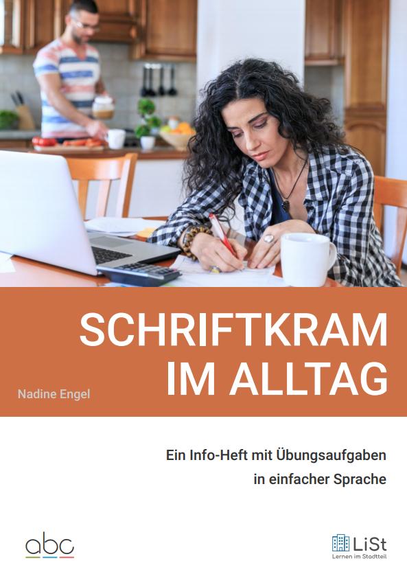 Info-Heft Schriftkram im Alltag