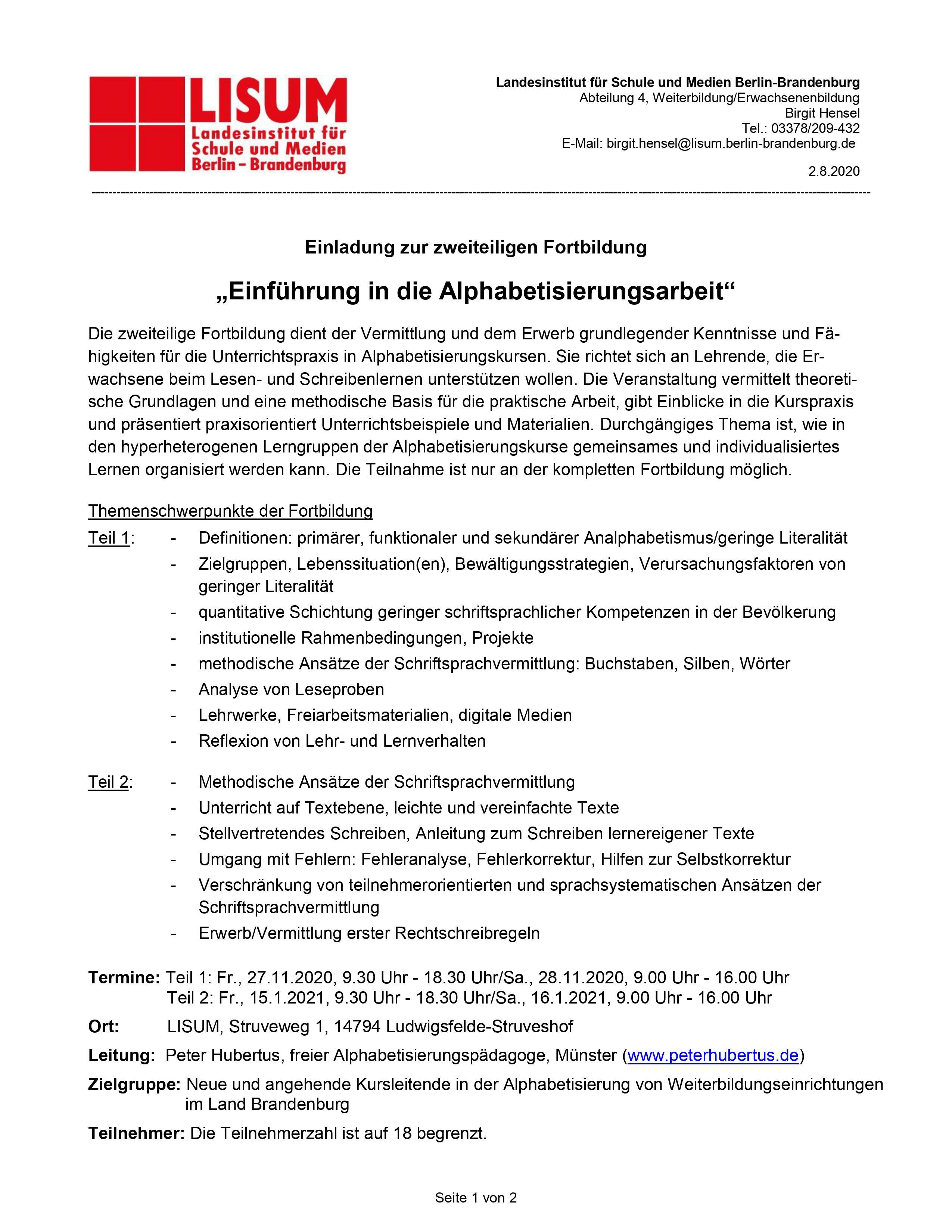 scr_Einführung Peter Hubertus